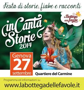 IncantaStorie a Genova 27.09.2014